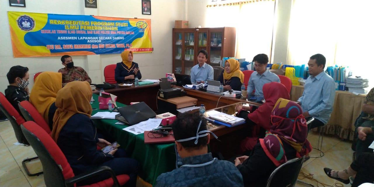 Visitasi Re-Akreditasi Program Studi Ilmu Pemerintahan oleh BAN-PT