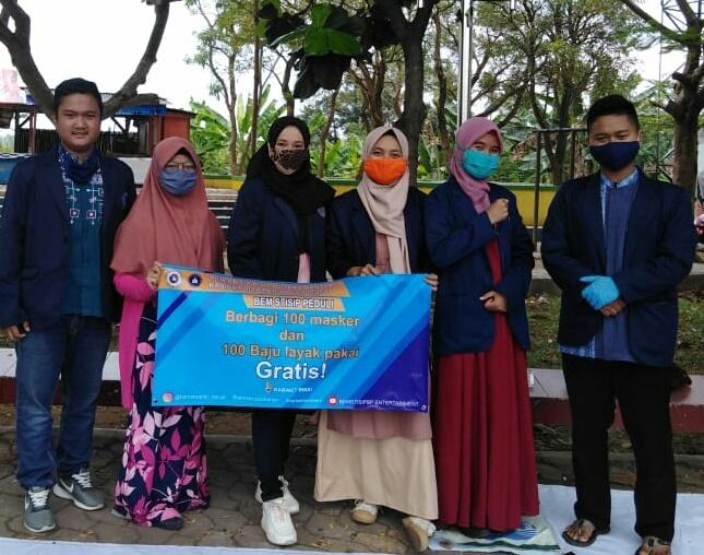 Aksi Sosial BEM Kabinet BISA STISIP Bina Putera Banjar